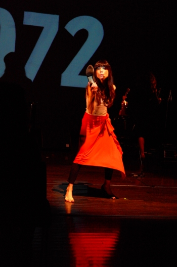 Marina Cedro en représentation pour Tango 1972